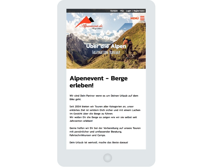 Alpenevent Screen Phone