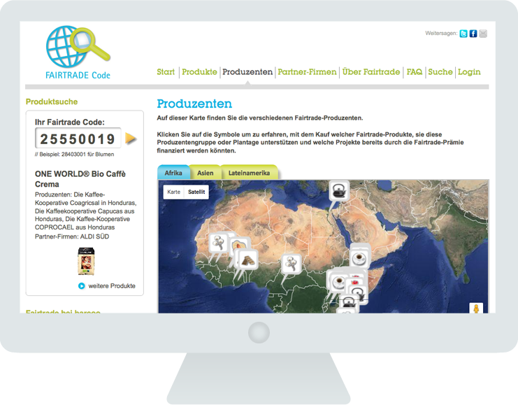Fairtrade Code Produzenten