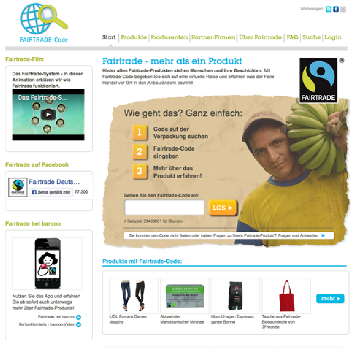 Fairtrade Code